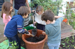 The Role of Gardening in the Grades