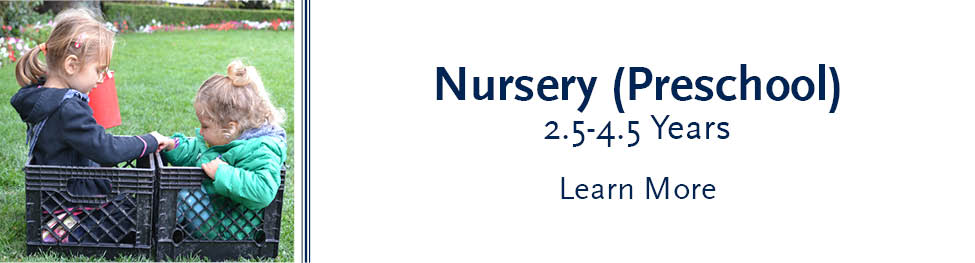 Learn more about our Nursery